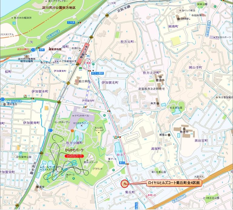 菊丘町 地図