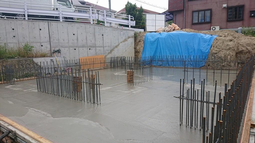 1Fベースコンクリート打設 (68)